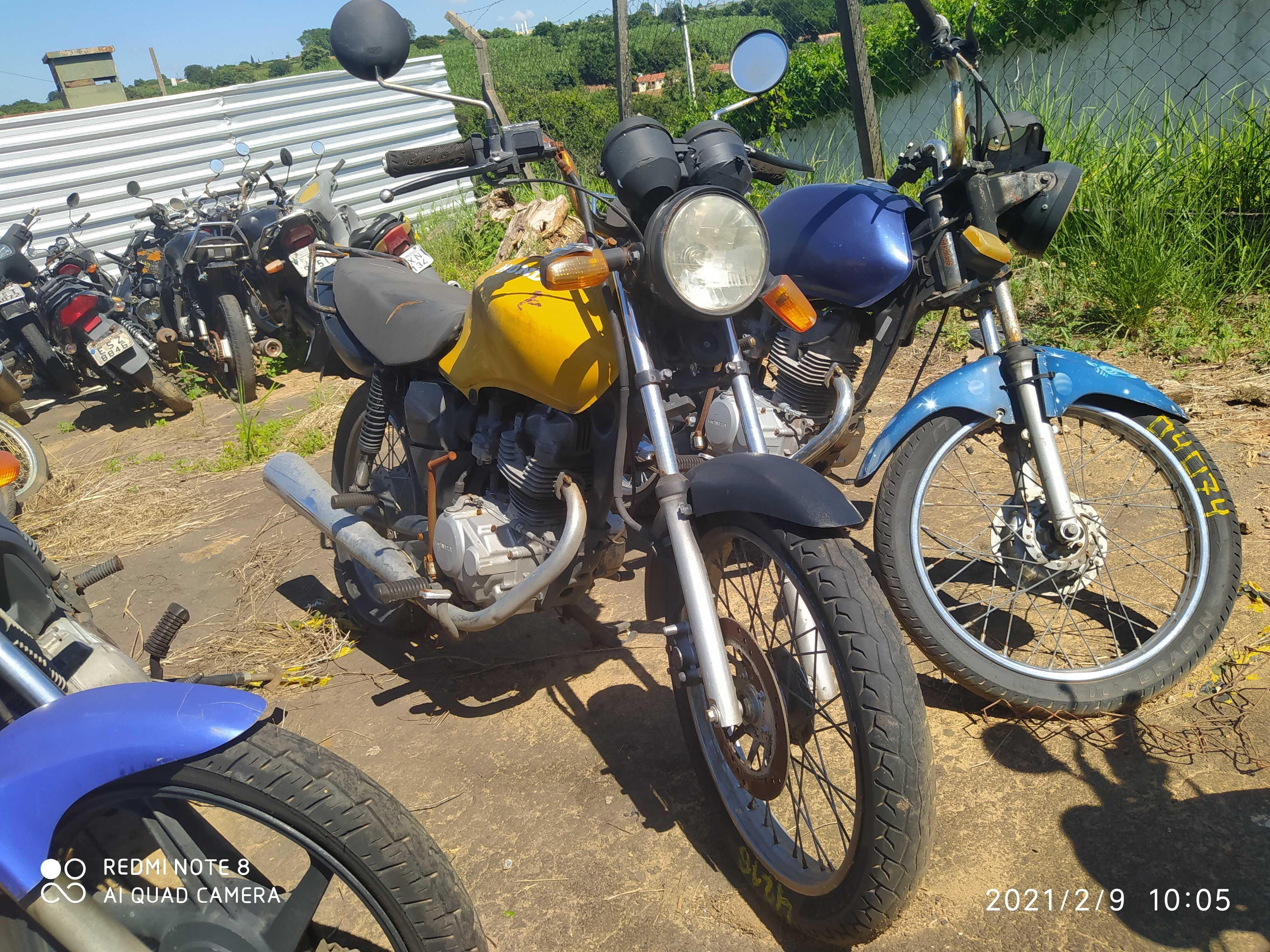 HONDA/CG 125 CARGO - 2002/2002 - PRENSA