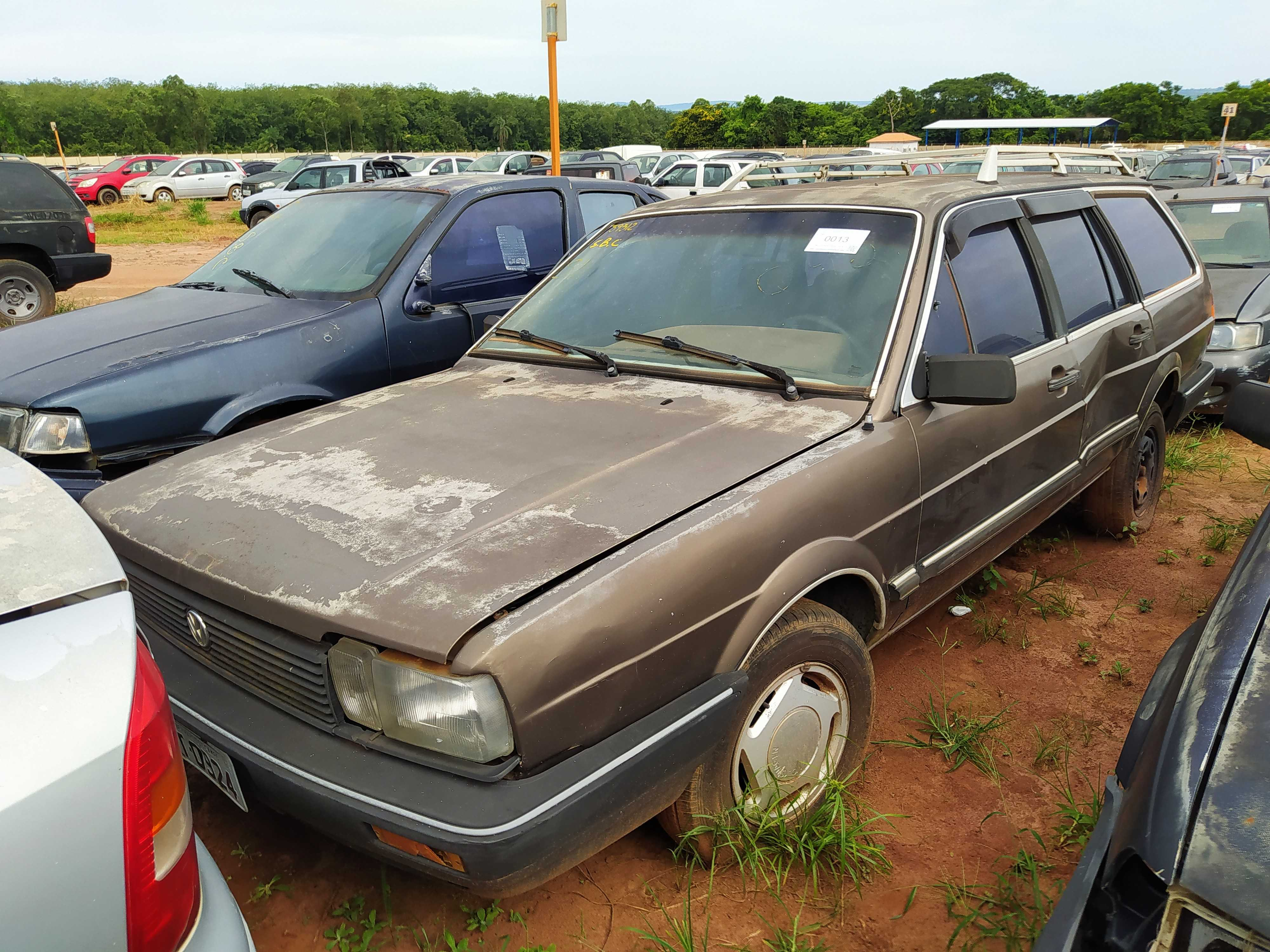 VW/QUANTUM GLS 2000 - 1990/1990 - C/ DOCUMENTO