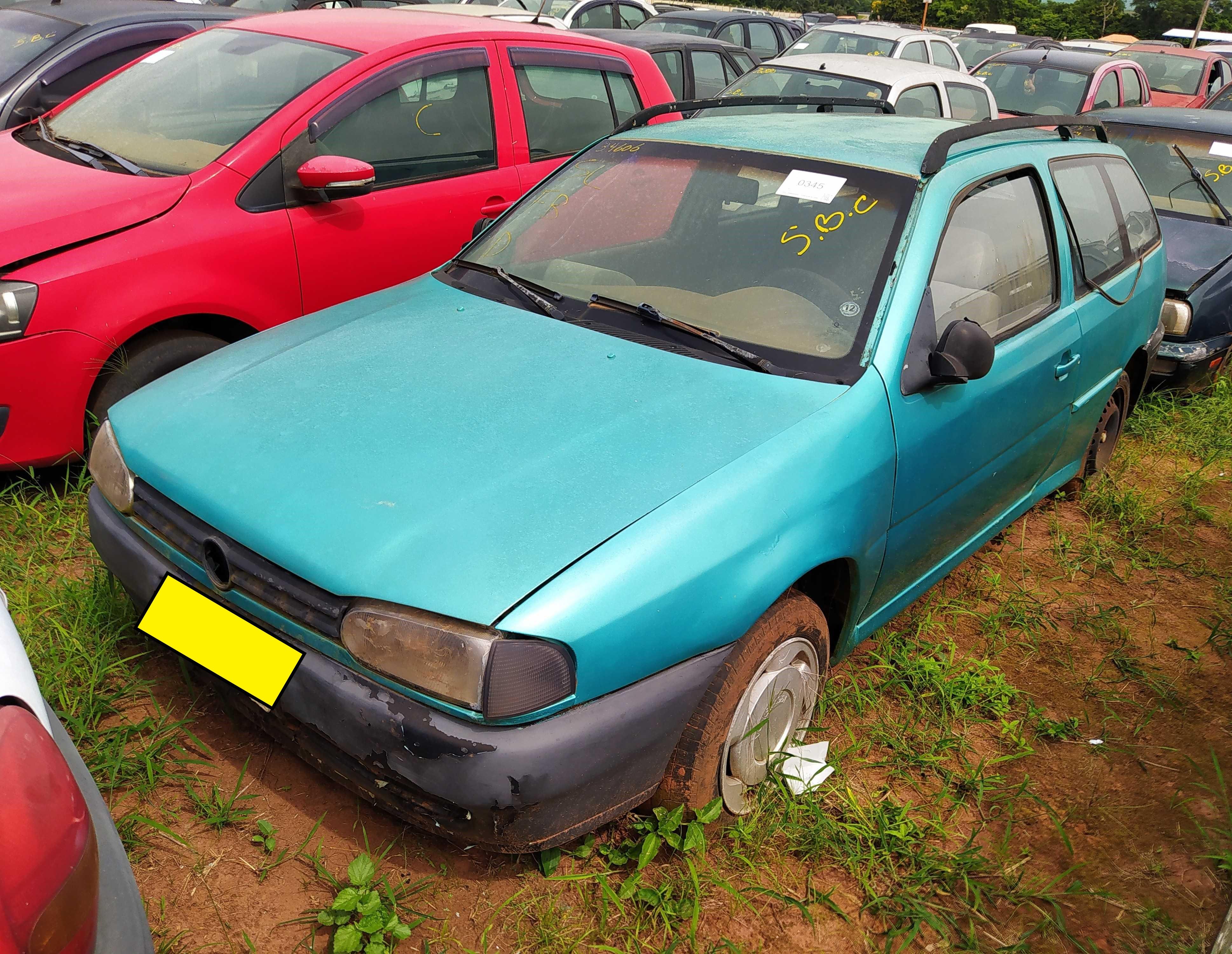 VW/PARATI CL 1.8 MI - 1996/1997 - C/ DOCUMENTO