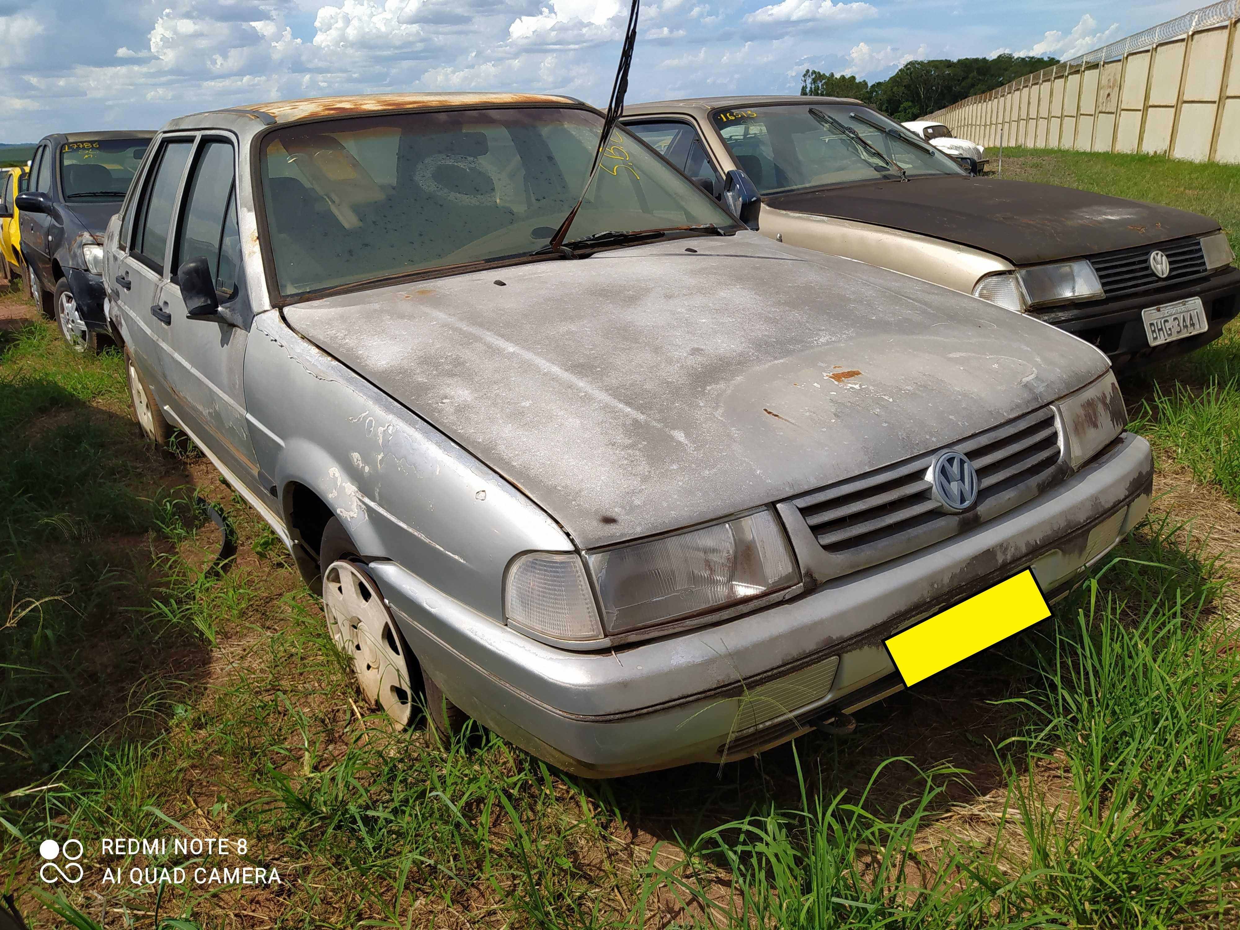 VW/SANTANA CL 1800 I - 1995/1996 - Sucata Aproveitavel