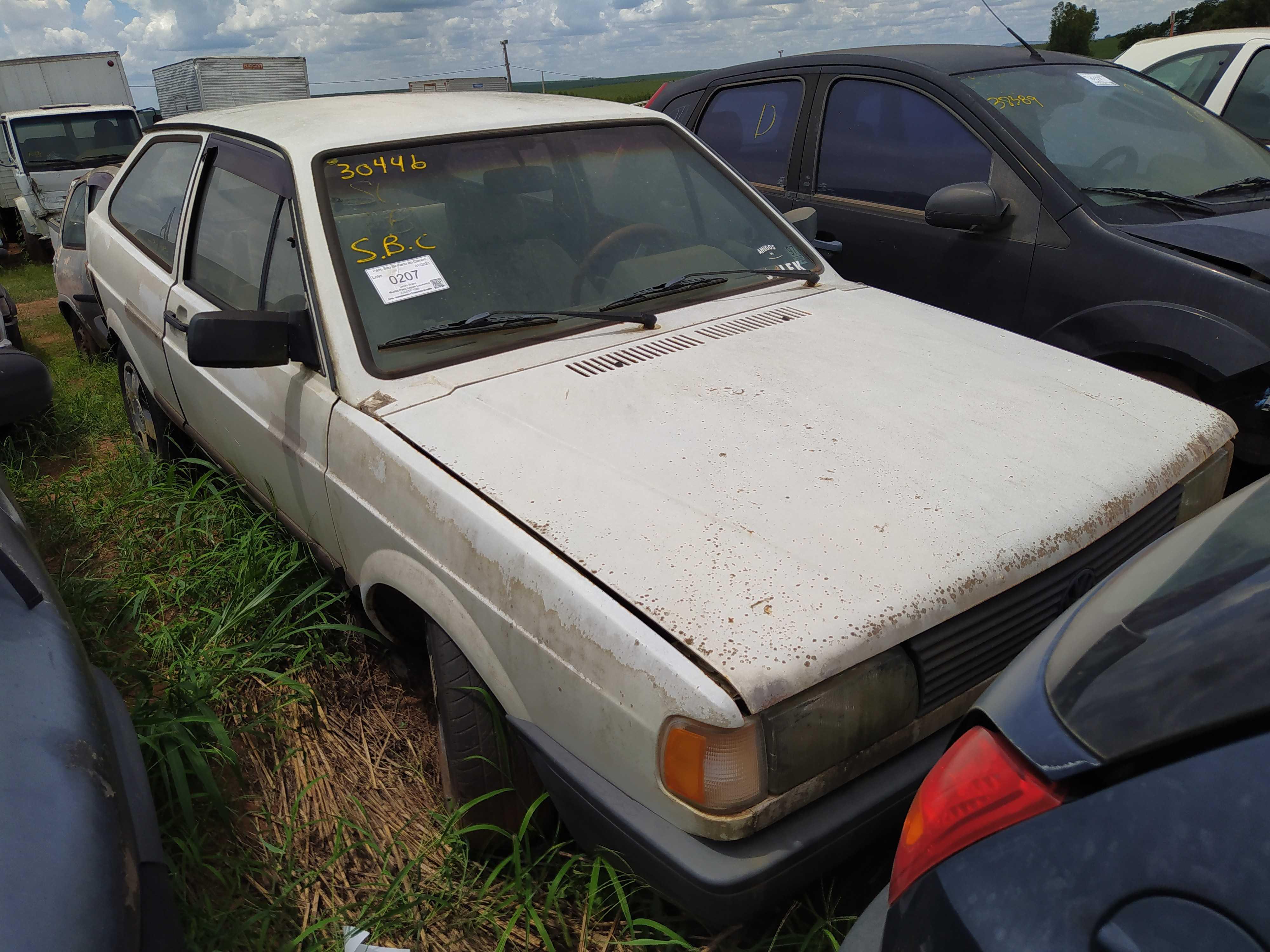 VW/GOL CL - 1991/1991 - Sucata Aproveitavel