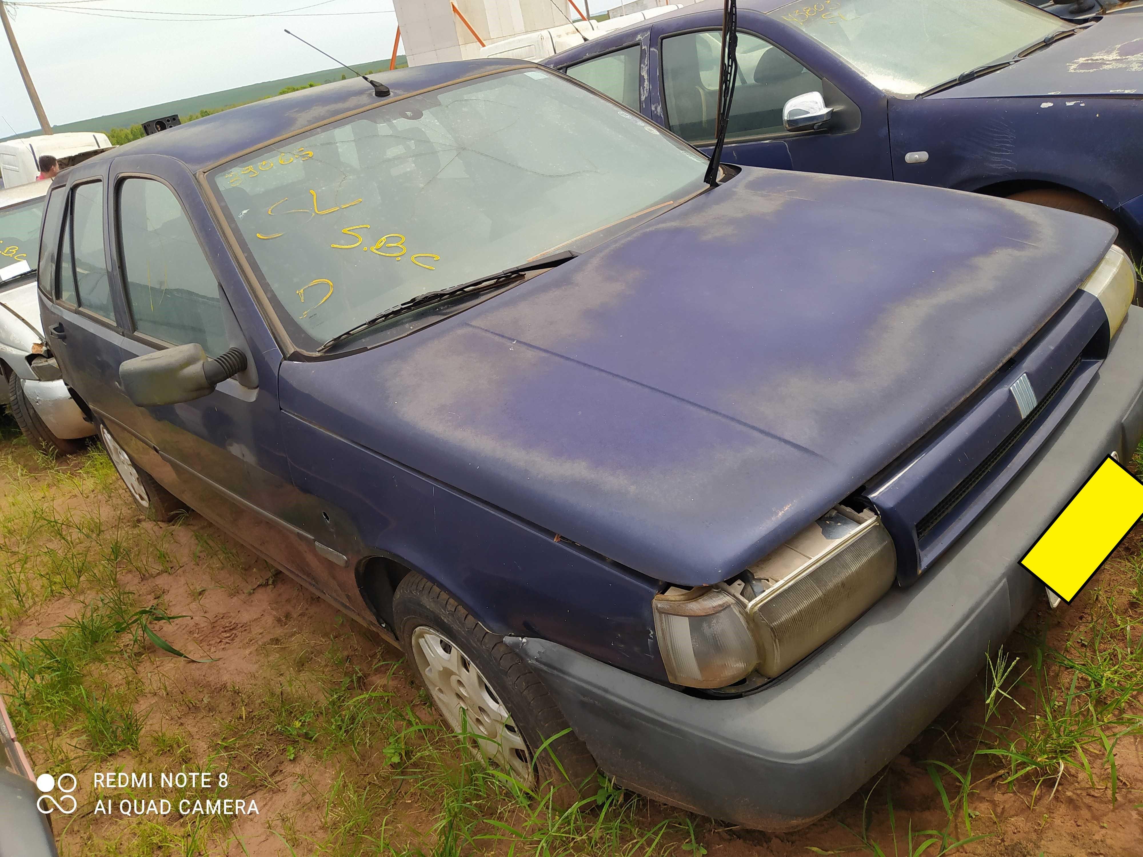 FIAT/TIPO 1.6 MPI - 1997/1997 - Sucata Aproveitavel