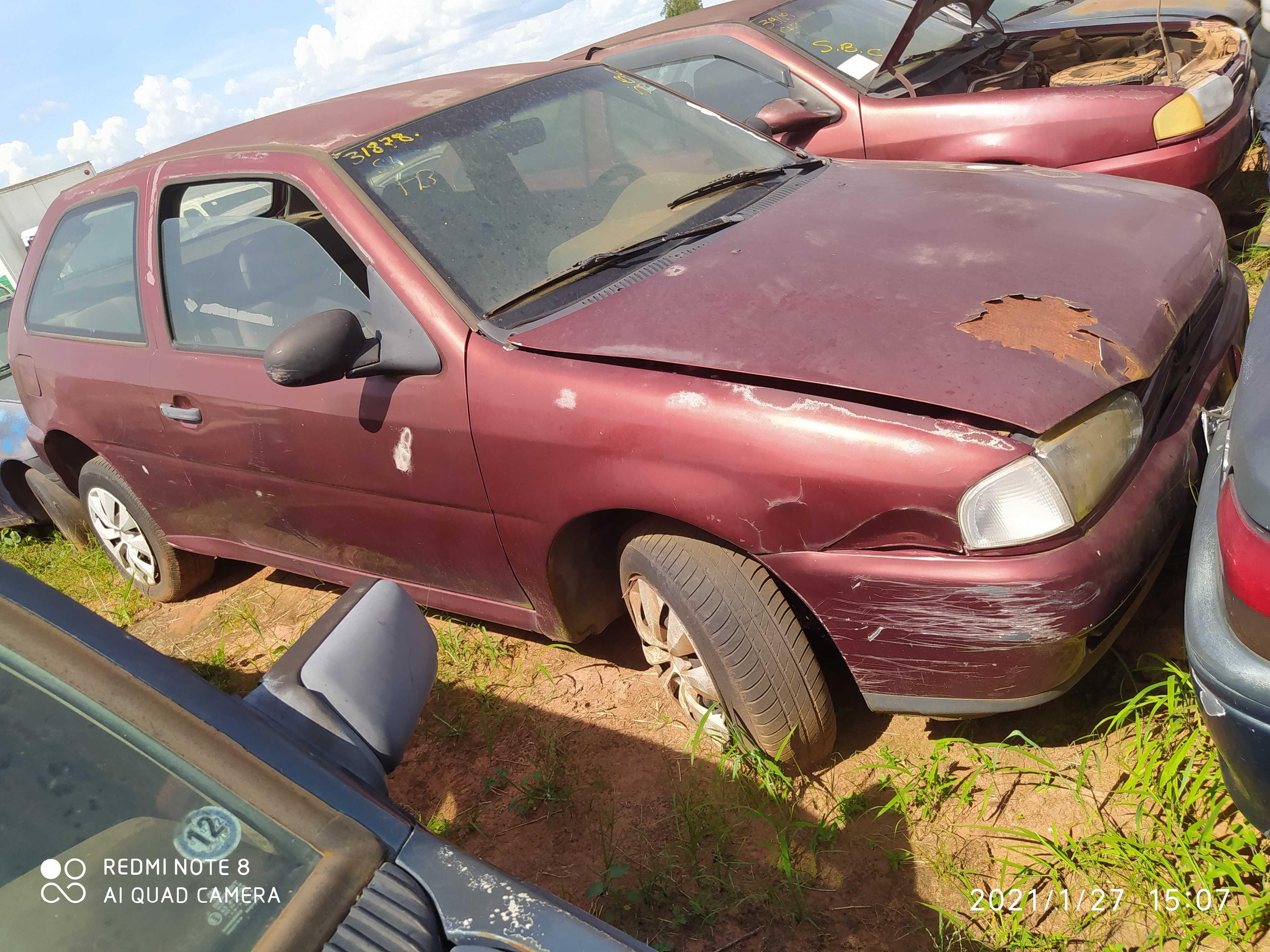 VW/GOL PLUS MI - 1997/1997 - Sucata Aproveitavel