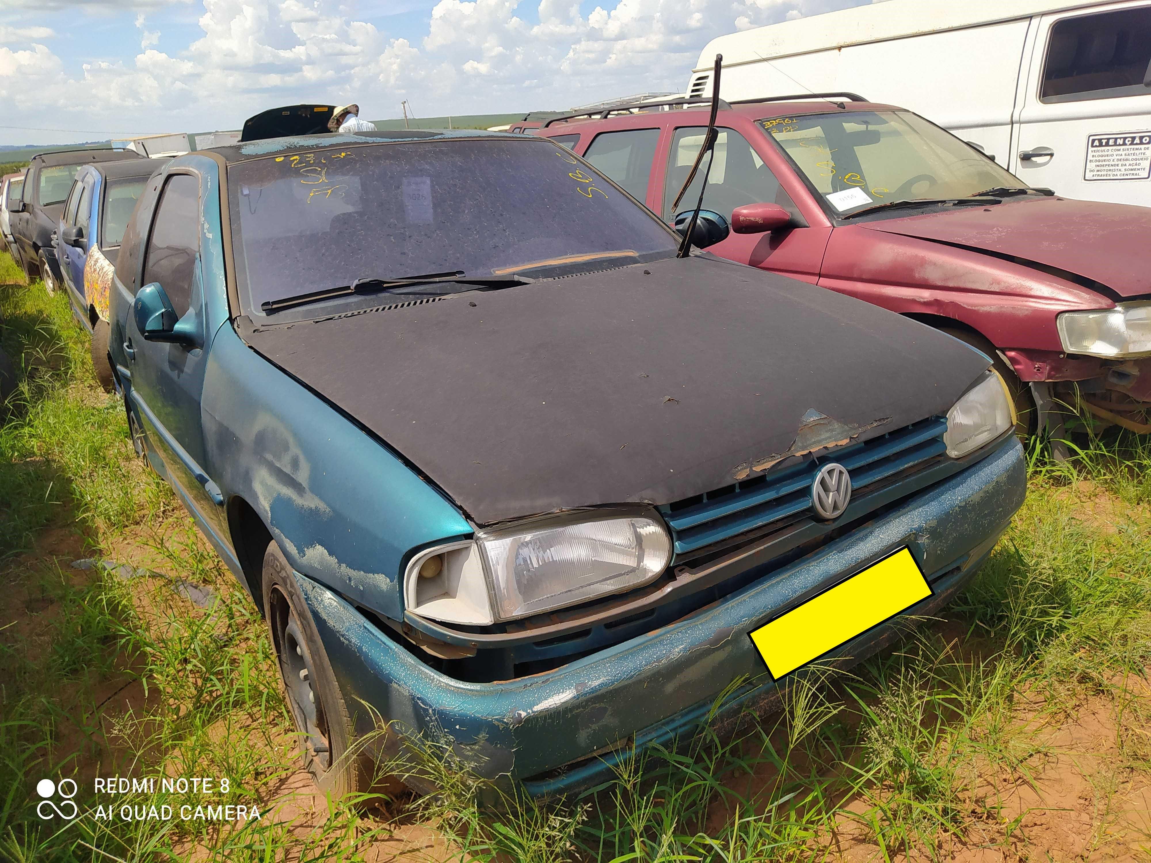 VW/GOL CLI - 1996/1996 - Sucata Aproveitavel