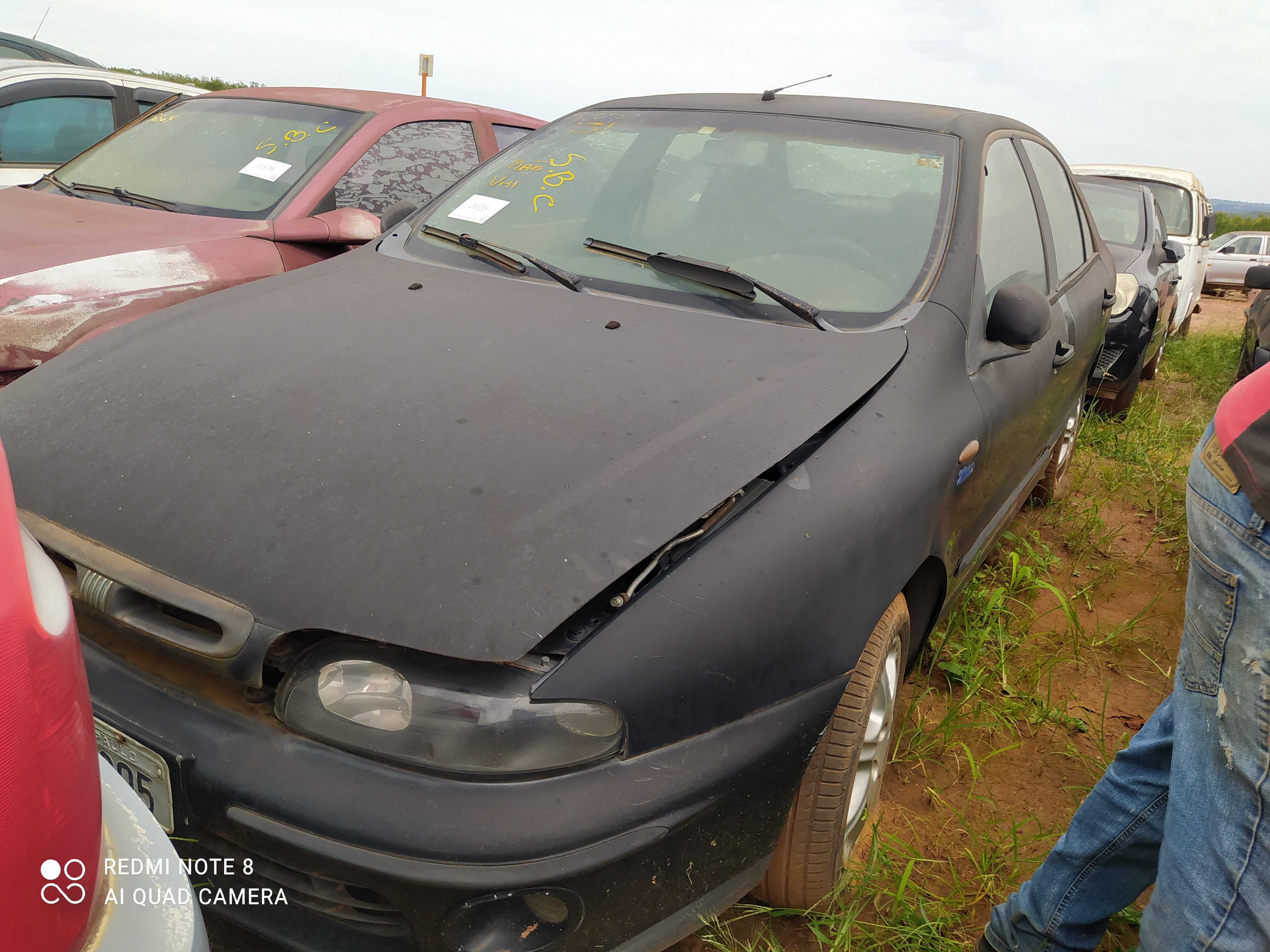 FIAT/MAREA HLX - 2000/2000 - Sucata Aproveitavel