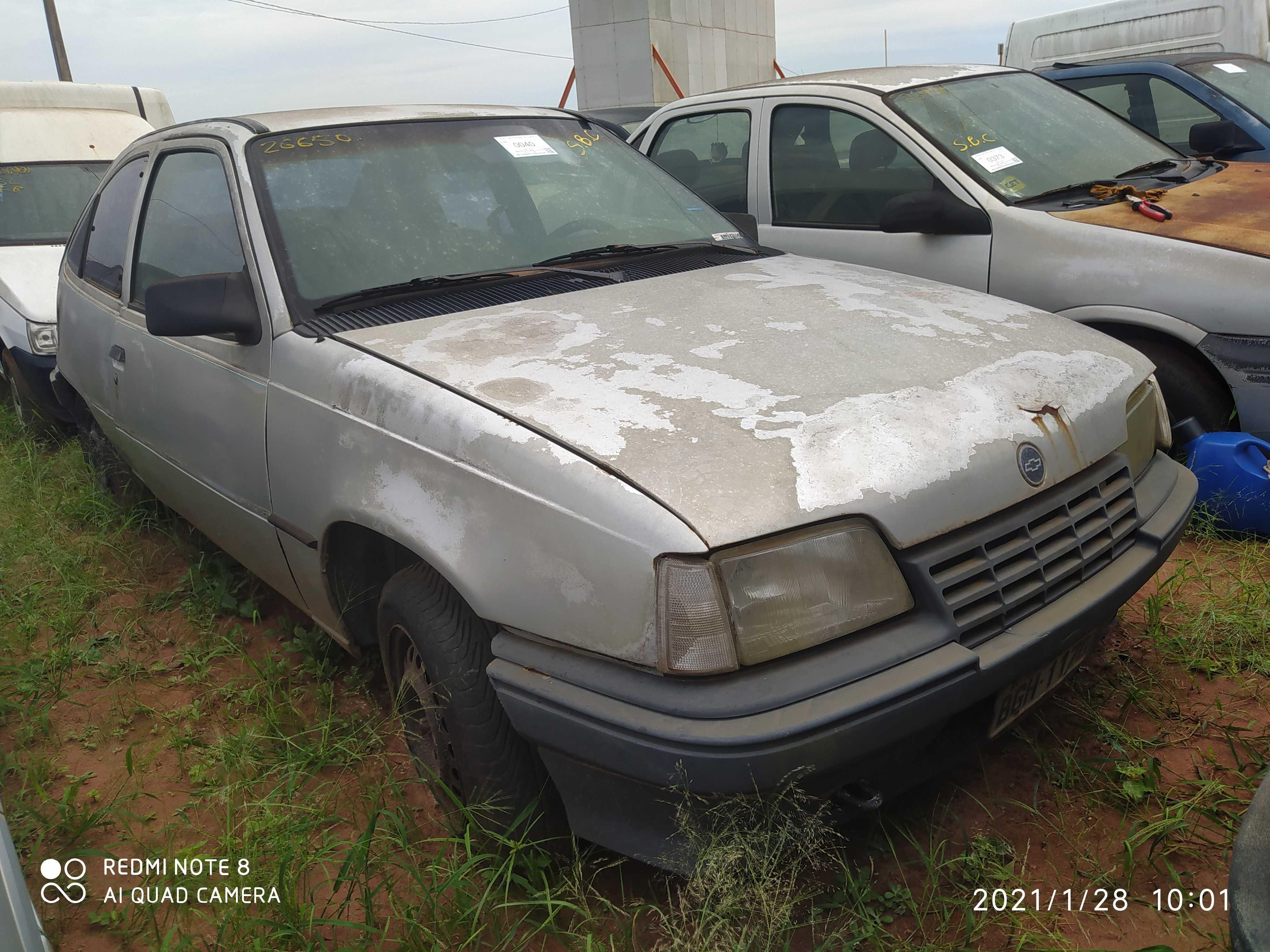 GM/KADETT TURIM - 1990/1990 - Sucata Aproveitavel