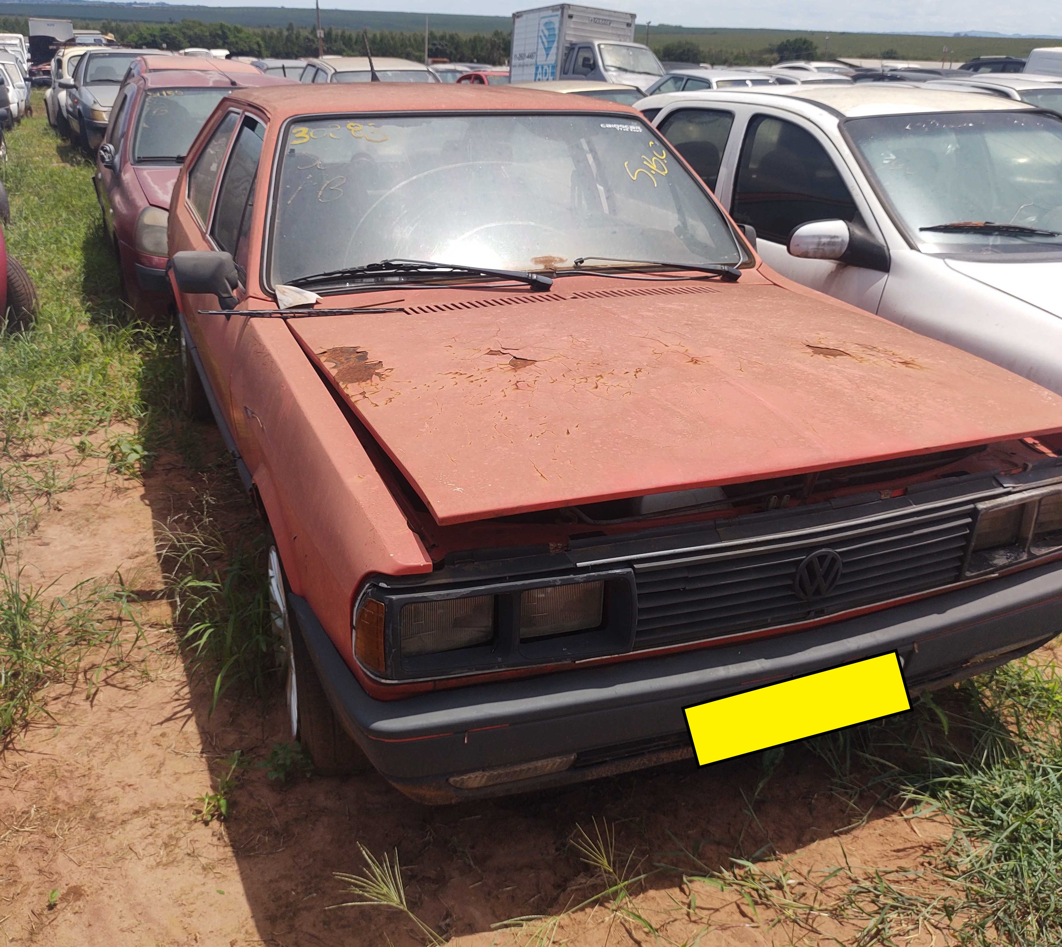 VW/PASSAT GTS - 1985/1986 - Sucata aproveitável motor inservível