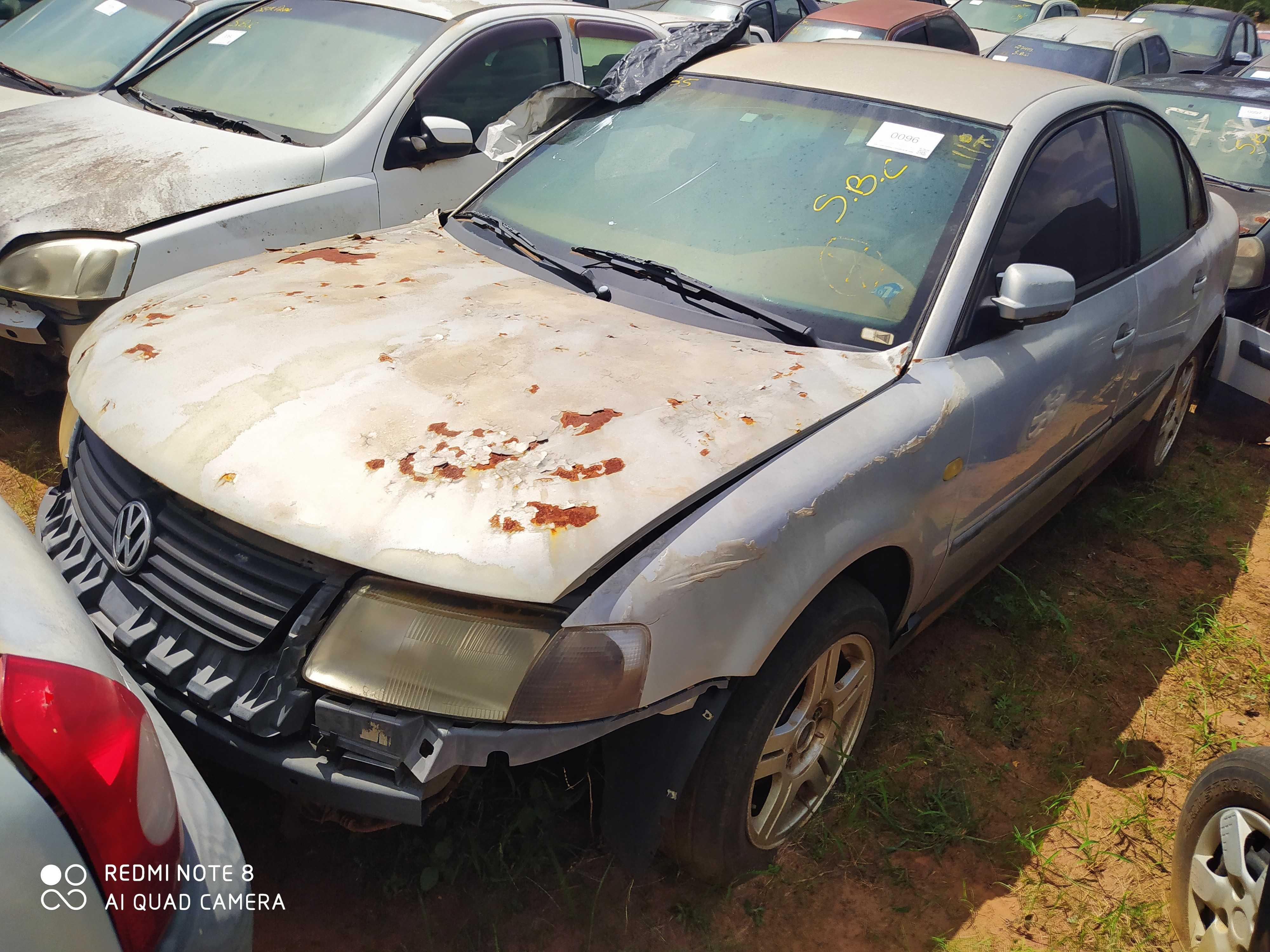 VW/VW PASSAT - 1998/1999 - Sucata Aproveitavel